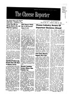 The Cheese Reporter, Vol. 86, No. 35, Friday, April 26, 1963