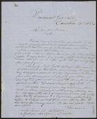 Letter from Raffaelo Carboni to William Henry Archer, September 20, 1854