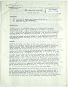 General Report from John T. Lassiter for December 1-15, 1943