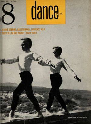Dance Magazine, Vol. 31, no. 8, August, 1957