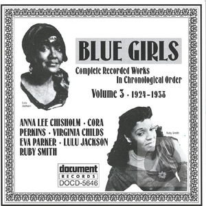 Blue Girls Vol. 3 (1924-1938)