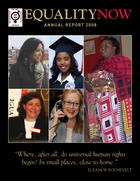 Equality Now: Annual Report 2008