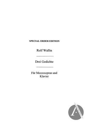 Drei Gedichte Von Rainer Maria Rilke Alexander Street A