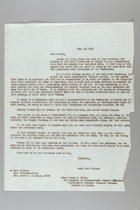 Letter from Anna Lord Strauss to Frieda Miller, July 28, 1955