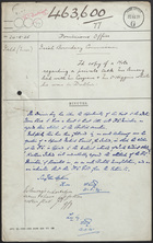 Copy of a Note Regarding a Private Talk Mr. Amery Had With Mr. Cosgrave and M.r O'Higgins While He Was in Dublin