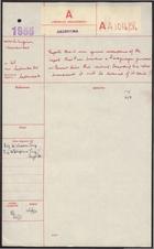 Telegram from Mr. Lingeman to Foreign Office re: Perón Aboard Paraguayan Gunboat, September 20, 1955