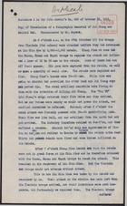 Enclosures to Letter from Sir J. Jordan to Sir Edward Grey, October 23, 1911