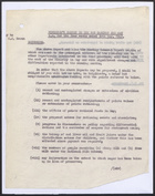 Memo from David Heron to Mr. M.P. Roseveare re: Minister's Report to the War Cabinet for the Four Weeks Ending 30th May, 1942
