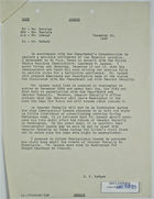 Memo from J. F. McGurk to P. J. Reveley et al. re: Meetings with L. M. Lawson, December 16, 1947