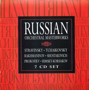 Russian: Orchestral Masterworks disc 02