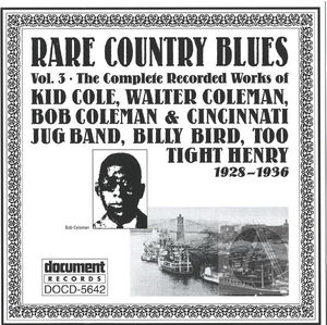Rare Country Blues Vol. 3 (1928-1936)