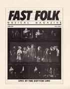Fast Folk Musical Magazine (Vol. 1, No. 4) Live at the Bottom Line