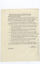 Memo from David Heron to W.J.M. Menzies re: Minister's Report to the War Cabinet for the Four Weeks Ended September 27th, 1941