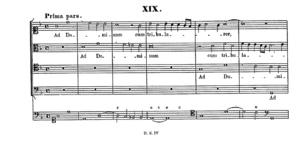 Ad Dominum cum tribularer (Prima pars)