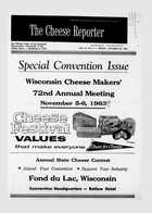 The Cheese Reporter, Vol. 87, No. 9, Friday, October 25, 1963
