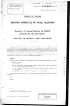 Summary of Annual Reports for 1944-45