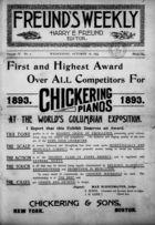 Freund's Musical Weekly, Vol. 4, no. 2, October 18, 1893