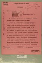 Telegram from Department of State, November 4, 1956