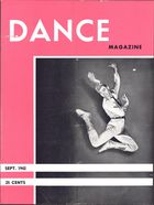 Dance Magazine, Vol. 15, no. 10, September, 1942