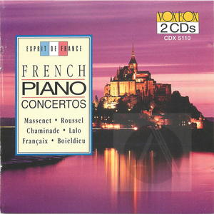French Piano Concertos (CD 1)