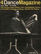 Dance Magazine, Vol. 38, no. 4, April, 1964