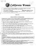 California Women: Bulletin, August 1978