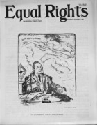 Equal Rights, Vol. 01, no. 34, October 06, 1923