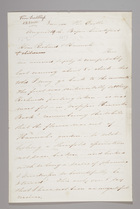 Letter from Sarah Pugh to Richard D. Webb, August 10, 1853