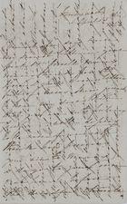 Letter from Kate MacArthur Leslie to William Leslie, April 13, 1842