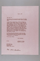 Letter from Elizabeth T. Halsey to Eileen Cox, May 22, 1968