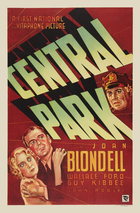 Central Park (1932): Shooting script