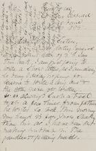 Letter from Janet Love Jack to Robert and Maggie Jack, February 3, 1895