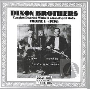 Dixon Brothers Vol. 1 (1936)