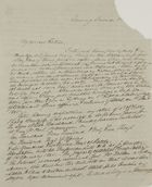Letter from George Leslie to William Leslie, March, 1845