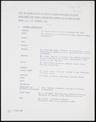 SOC 120/5 Note on present status of meeting of the integration of social programmes with overall development planning to be held in Addis Ababa 9-18 Oct. 1963, 19 July 1963