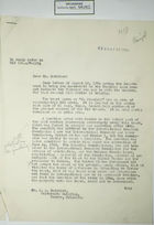 Letter from Ruth Mason Hughes to R. A. Batchler re: Chamizal Border Zone Case, August 26, 1954