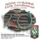 2003 WASBE: Musikkorps der Bundeswehr