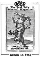 CooP - Fast Folk Musical Magazine (Vol. 1, No. 10) Women in Song