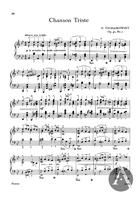 Chanson Triste, Op.40