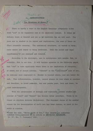 Manuscript: Transsexual Phenomenon
