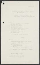 Committee On Homosexual Offences And Prostitution: Meeting Minutes, Part 1