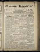 Cheese Reporter, Vol. 54, no. 29, Saturday, March 29, 1930