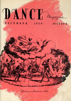 Dance Magazine, Vol. 24, no. 12, December, 1950