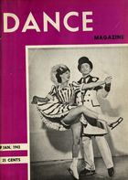 Dance Magazine, Vol. 17, no. 2, January, 1943
