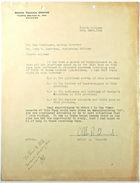 Letter from Allen R. Edwards to Lee Hunsinger and John T. Lassiter re: Expenses, November 21, 1942