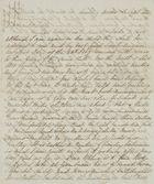 Letter from Emmeline MacArthur Leslie to Jane Davidson Leslie, September 1, 1848
