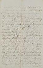 Letter from Emmeline MacArthur Leslie to Jane Davidson Leslie, February 4, 1850