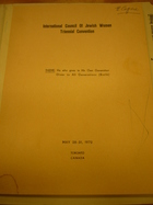 Proceedings of the [9th] Convention in Canada, 1972