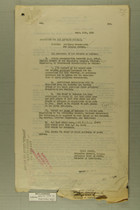 Memos from Henry Jervey and Wm. J. Snow re: Artillery Detachments for Mexican Border, September, 1918