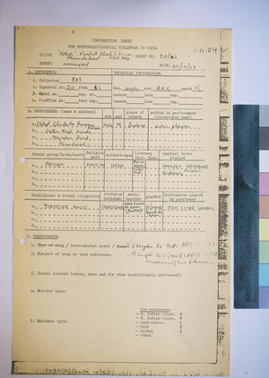 1-11-84 Information Sheets